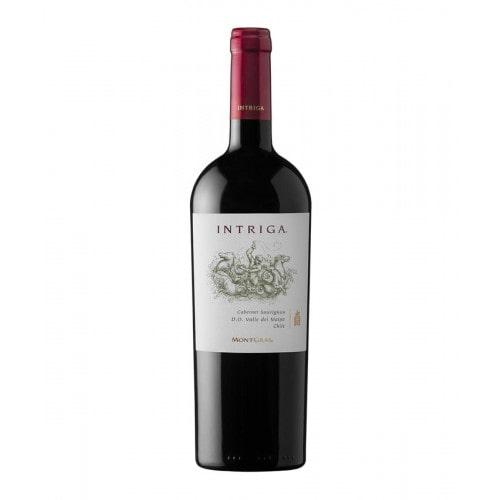 Vinho Montgras Intriga Cabernet Sauvignon 2016 750ml