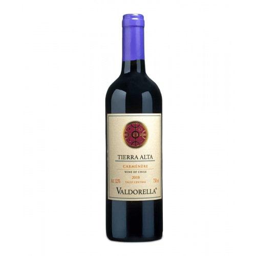 Vinho Valdorella Tierra Alta Carménère 2019 750ml